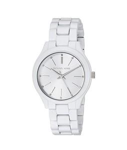 Michael Kors Slim Runway Womens Watch White (MK3908)