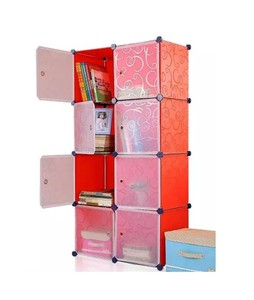 Oddity DIY 8 Cubes Storage Cabinet Orange (ODD-D8CSC-ORANGE)