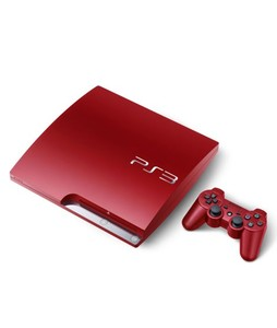 Sony Playstation 3 12GB Console RED