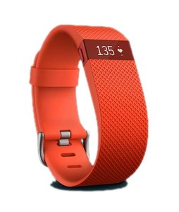 Fitbit Charge Heart Rate + Activity Wristband Tangerine