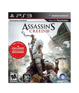 Assassins Creed III Game For PS3