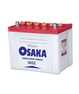 Osaka 11 Plates Acid Battery - White (S85Z)