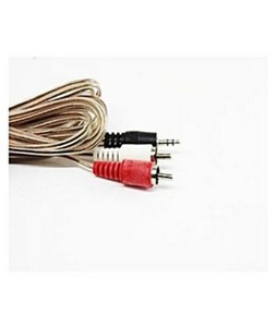 SubKuch Male To 2RCA Male Audio Adapter Stereo AUX Cable (0851)