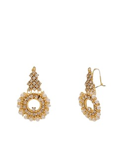 Asaan Buy Stylish Gold Plated Earrings Gold (J-025)