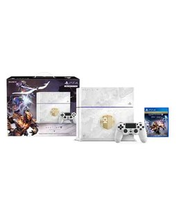 Sony PlayStation 4 Console - 500GB with Destiny The Taken King Limited Edition Bundle