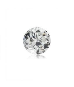 Mujahid Traders Diamond Cut Zirconium Stone For Ring White - 18 Crt