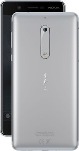Nokia 5 16GB 2GB RAM Dual Sim Silver - Official Warranty
