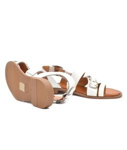 Julke Sparla Flats For Women - White