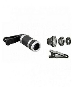 Rubian 8X Zoom Mobile Lens With 3 in 1 Mobile Lens - Pack Of 2