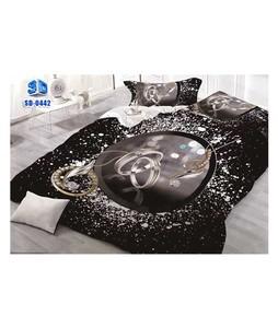 RGshop 3D Double Bed Sheet (SD-0442)