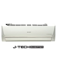 Sharp J-Tech Inverter Split Air Conditioner 1.0 Ton (AH-X12SEV)