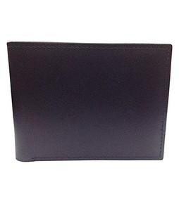 Rubian Leather Wallet For Men Black (WAL-HQ-03)