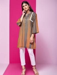 Khas Stores Stitched Lawn Kurti For Women 1 Piece (DR-257)