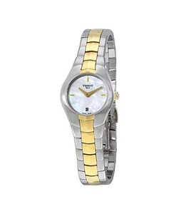Tissot T-Round Womens Watch Two Tone (T0960092211100)