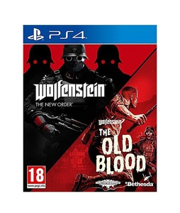 Wolfenstein The New Order & Wolfstein The Old Blood Game For PS4 Bundle