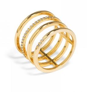 Baublebar Ice Quad Gold Ring