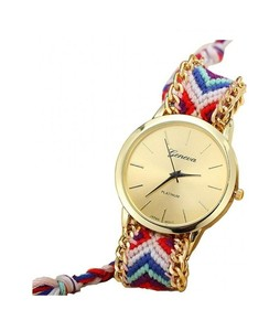 SaharCollection4u Thread Knitted Watch For Women Multicolor