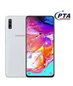 Samsung Galaxy A70 128GB 6GB RAM Dual SIM White - Official Warranty