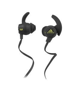 Monster Adidas Sport In-Ear Headphones Grey/Yellow
