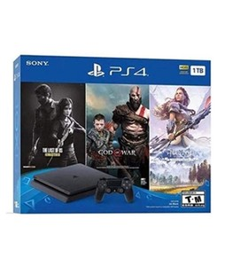 Sony PlayStation 4 Holiday Bundle 1TB Console With 3 Games
