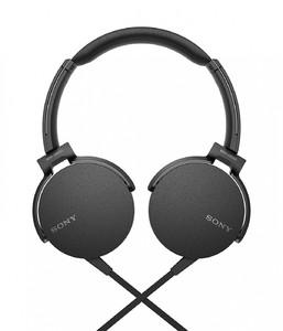 Sony Extra Bass On-Ear Headphones Black (MDR-XB550AP)