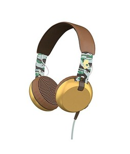 Skullcandy Grind Wireless On-Ear Headphones Gold/Brown