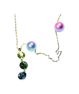 Fanci Mall Necklace Green Droplet (NL003)