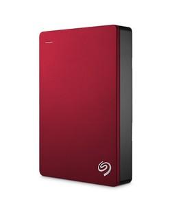Seagate 5TB Backup Plus Portable Hard Drive Red