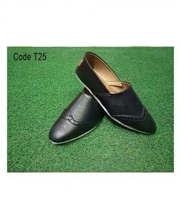 PIP Black Leather Shoes For Mens (T25)