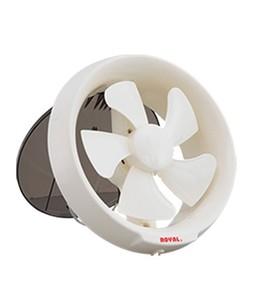 Royal Plastic Window Exhaust Fan 6 White