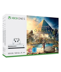 Xbox One S 500GB Console - Assassins Creed Origins Bundle