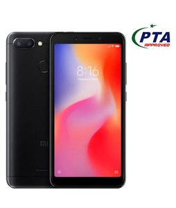 Xiaomi Redmi 6 64GB Dual Sim Black - Official Warranty