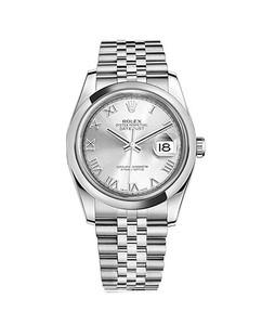 Rolex Datejust 36 Mens Watch Silver (116200-0067)