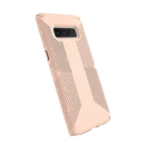 Speck Presidio Grip + Glitter Gold/Dahlia Peach Case For Galaxy Note 8