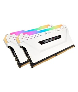 Corsair Vengeance RGB Pro C16 16GB DDR4 DRAM Memory For Desktop White (CMW16GX4M2C3200C16W)