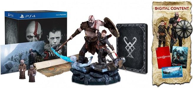 God Of War Collectors Edition Game For PS4