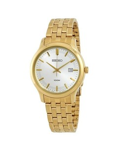 Seiko Classic Mens Watch Gold (SUR148P1)