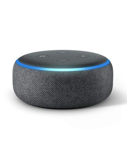 Amazon Echo Dot 3rd Generation Smart Speaker Charcoal