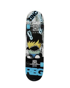 Israr Mall Skateboard Large Size - Blue/Black