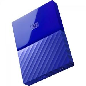 WD My Passport 4TB Portable External Hard Drive Blue (WDBYFT0040BBL)