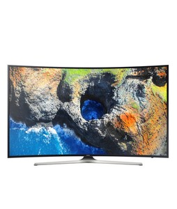 Samsung 55 4K Smart Curved UHD LED TV (55MU7350) - Without Warranty