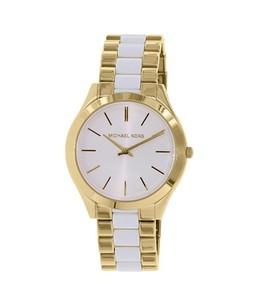 Michael Kors Slim Runway Womens Watch Gold (MK4295)