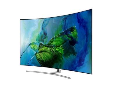 Samsung 55 4K Smart Curved UHD LED TV (55Q8C) - Official Warranty