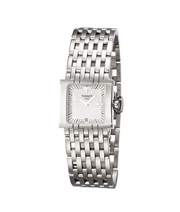 Tissot T-Trend Six-T Womens Watch Silver (T02118181)