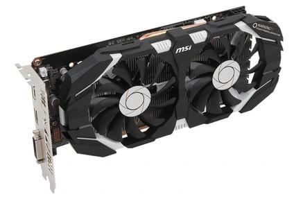 MSI GeForce GTX 1060 6GT OC Graphic Card