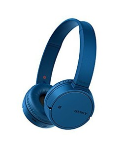 Sony Wireless Bluetooth On-Ear Headphone Blue (WH-CH500)