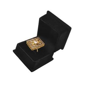 Waks Pk Stone Gold Ring For Women (JW896)