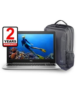 Dell Inspiron 15 5000 Series Core i3 8th Gen 4GB 1TB Laptop (5570) With Backpack - Without Warranty