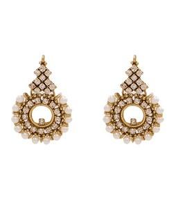 Asaan Buy Stylish Alloy Earrings Matt Gold (J-023)
