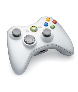 Microsoft Xbox 360 Wireless Controller For Windows White